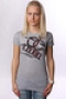 Футболка женская Ezekiel Bad Girl Tee Heather Grey