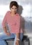 Блуза в полоску с рукавом 3/4 941126