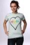 Футболка женская Enjoi Spectrum Heart Seafom