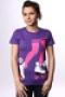 Футболка женская Enjoi Rexing Purple