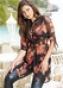 Удлиненная блуза 961934
