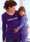 Футболка с длинным рукавом для беременных 935250