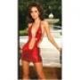 Виниловое клубное платье
