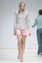 Розовые шорты со складками