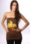 Топ женский Ezekiel Paradise Tube Top Chocolate