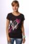 Футболка женская Roxy Tunic Sheer Print Trb XGWJE813-J