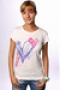 Футболка женская Roxy Tunic Sheer Print Mlk XGWJE813-J