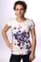 Футболка женская Roxy Tunic Sheer Print Mlk XGWJE803-L