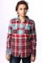 Рубашка женская Дл/Рук Roxy Sugar Addict Shirt Plaid Rvr XGWSH23
