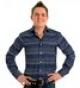 Мужская рубашка Paul Smith (Пол Смит) синяя с белым в горошек Ne