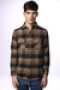 Рубашка Independent Token Brown/Navy Plaid