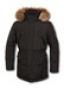 Длинная мужская куртка с мехом - зимняя одежда 2011 года