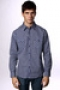 Рубашка Ezekiel Foster Ls Shirt Dream Blue