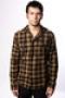 Рубашка Globe Ilted Shirt Brown