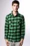 Рубашка Creature Fargo Green/Black Plaid