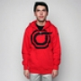 Толстовка Orisue Armor Fleece Hoodie Red