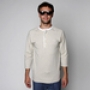 Лонгслив Orisue Moore Henley Shirt Tan