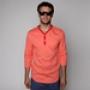 Лонгслив Orisue Wayden Henley Shirt Coral