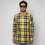 Рубашка Orisue Sutter Button-Up Yellow