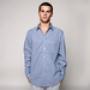 Рубашка Mishka Daltrey Plaid Buttondown Shirt Blue