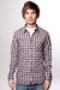 Рубашка Atticus Pico Brown Plaid