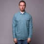 Рубашка Mishka Fratelli Houndstooth Buttondown Shirt Blue