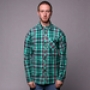 Рубашка Mishka Aberdeen Plaid Buttondown Shirt Aqua