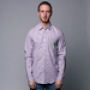 Рубашка Mishka Keaton Striped Buttondown Shirt Lavender
