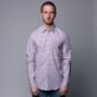 Рубашка Mishka Keaton Striped Buttondown Shirt Lavender