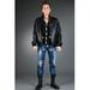 кожаная куртка Burberry (30103)
